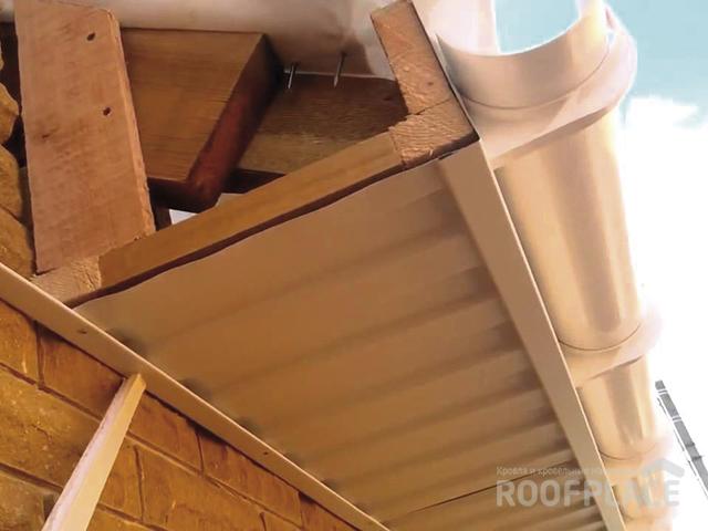 Подшивка свесов крыши Фото 2