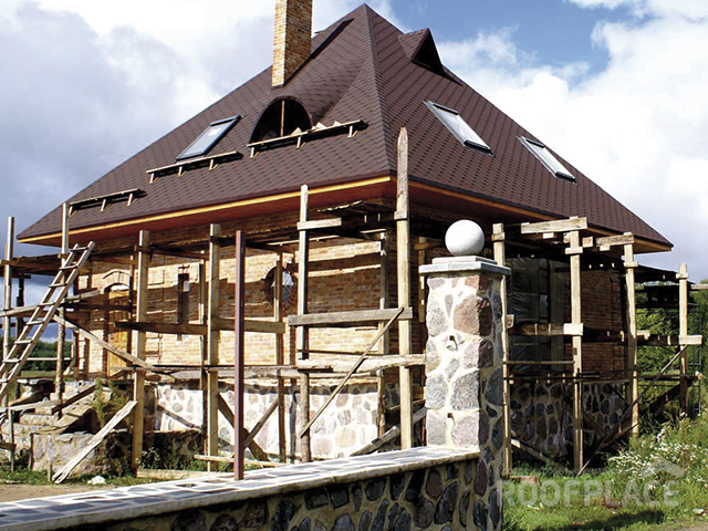 Скатная крыша Фото 2