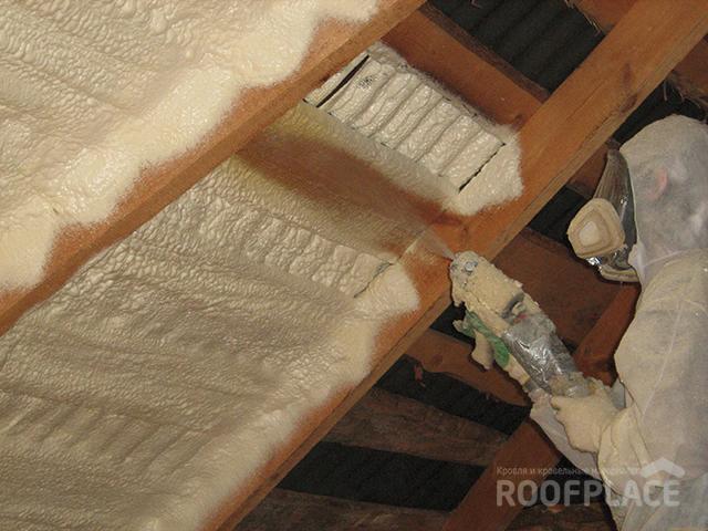 Утепление крыши Фото 1