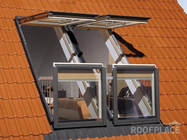 Мансардные окна Fakro Фото 1