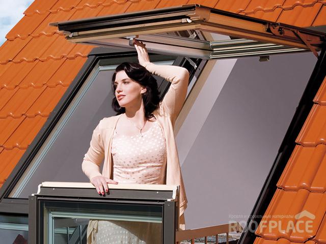 Мансардные окна Fakro Фото 3