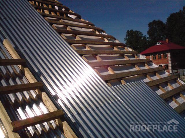 Гофролист для крыши Фото 4