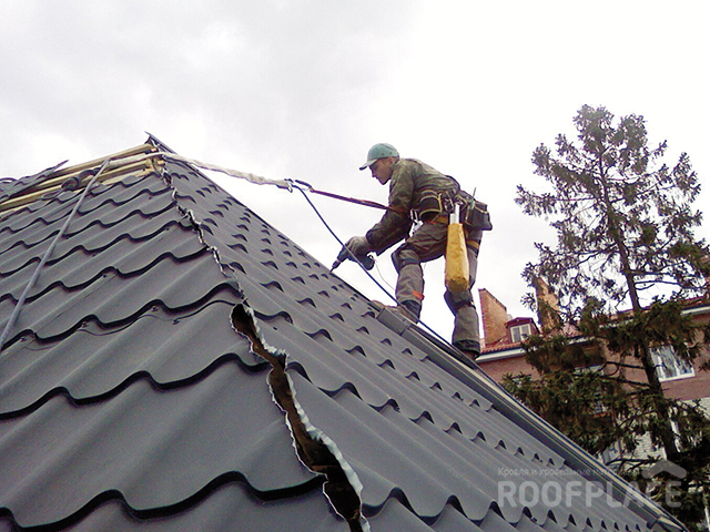 Конёк крыши  Фото 4