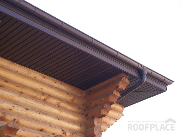 Подшивка свесов крыши Фото 4
