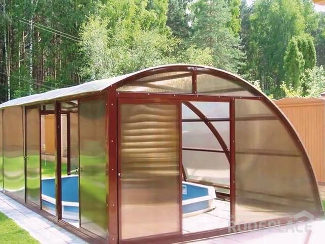 Крыша из поликарбоната Фото 5