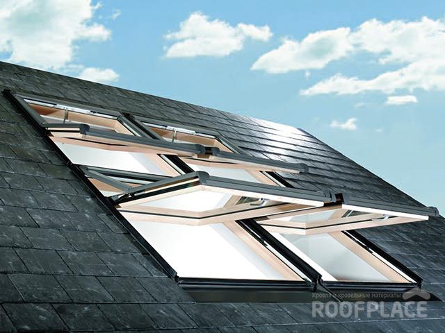 Мансардные окна Roto Фото 6