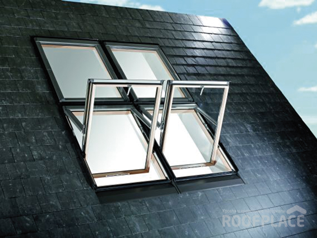 Мансардные окна Roto Фото 7