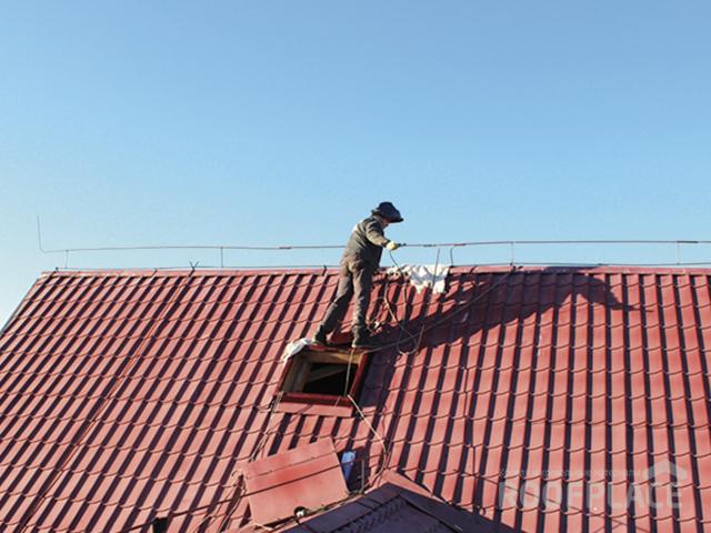Молниезащита крыши Фото 4